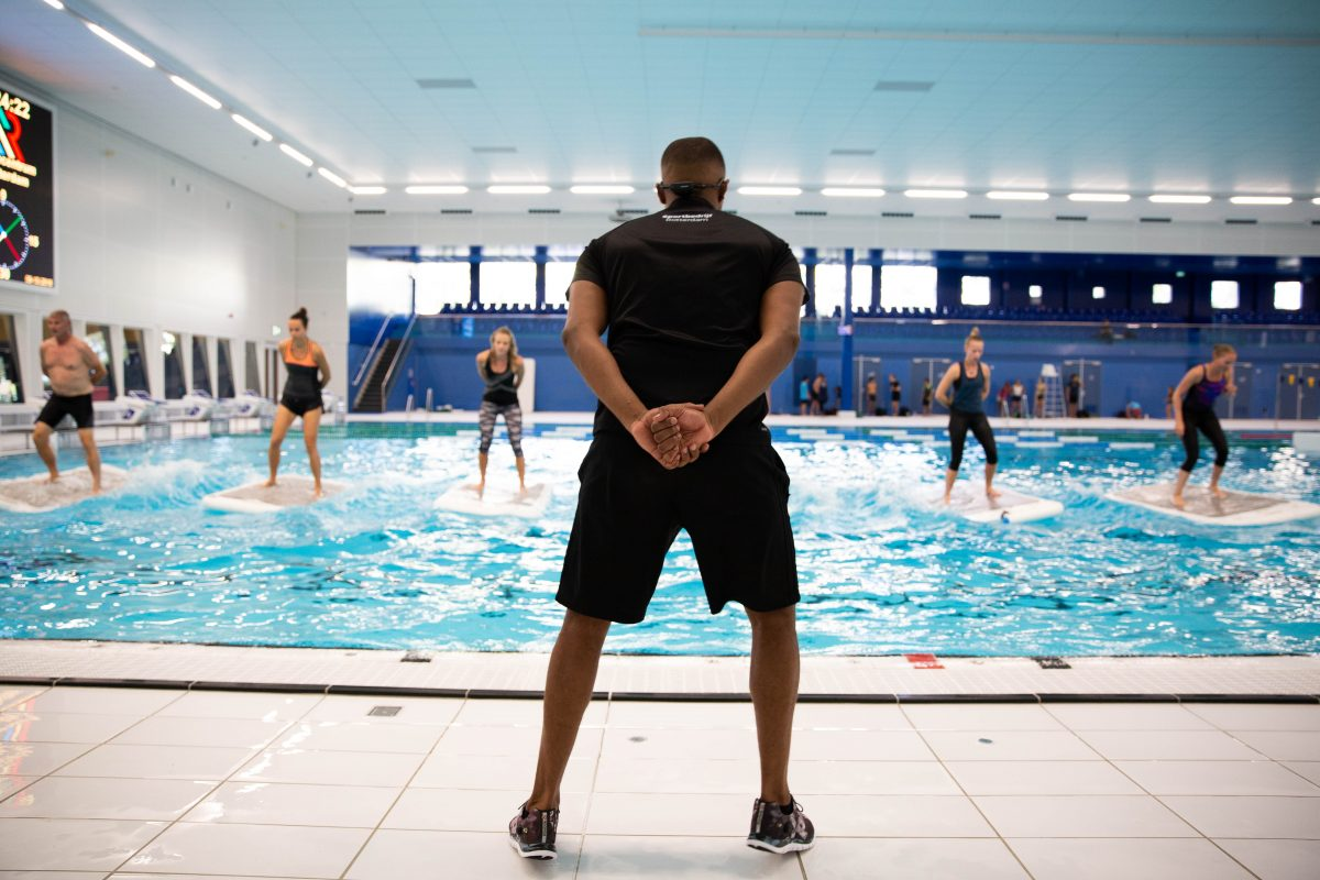 Floatfit - Zwemcentrum Rotterdam.