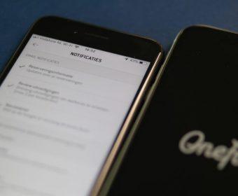 OneFit app - notificaties